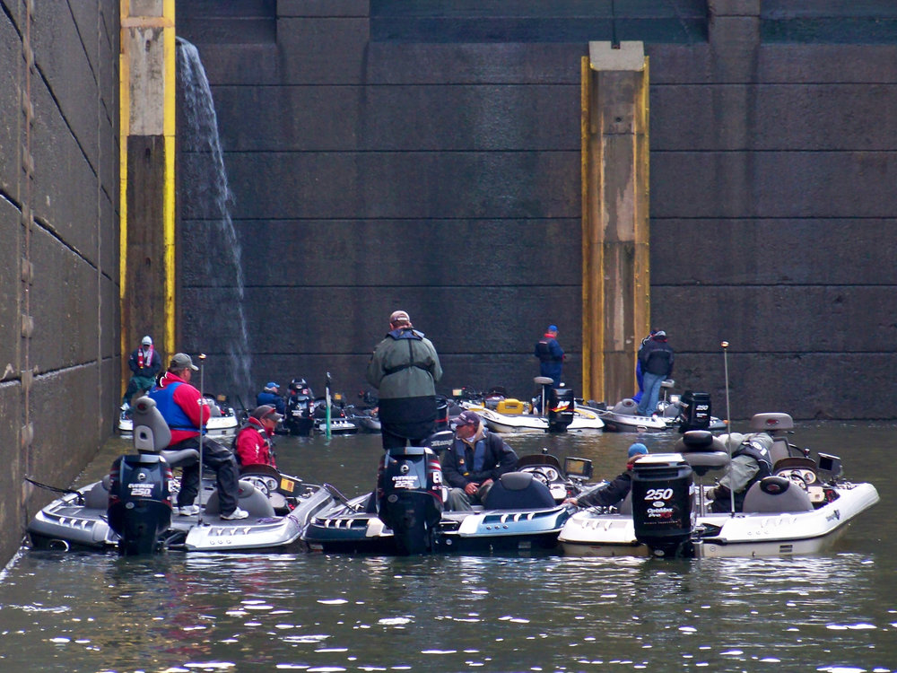 Wilson Dam Lock 2009 FLW Stren Series Championship Pickwick Lake Alabama