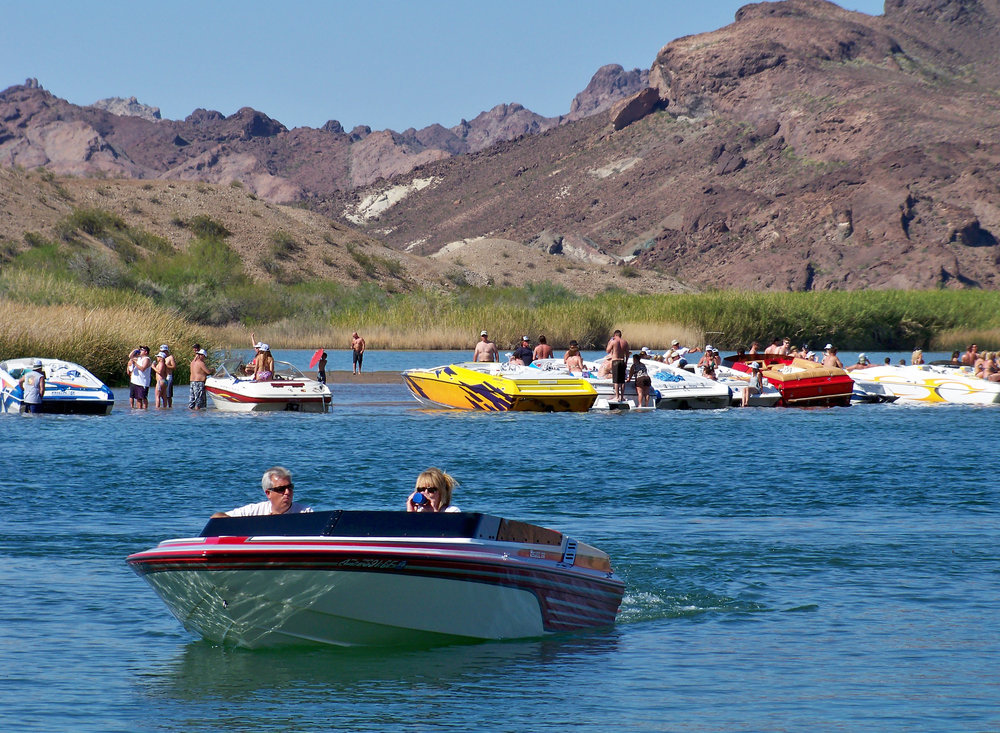Over 25-million people live within a 5-hour drive of Lake Havasu City making the lake a popular spring break destination.