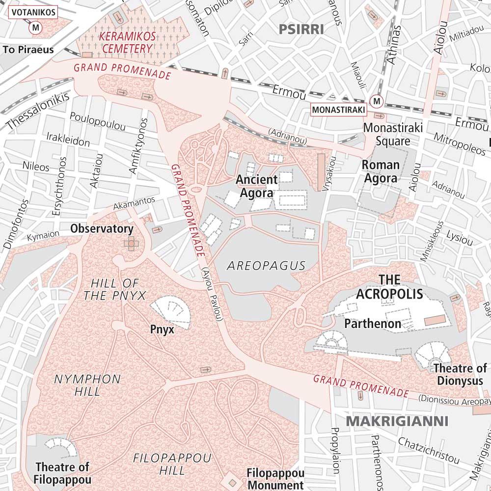 Athens (detail)