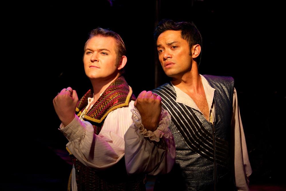 The Princes (Randall Eames & Kikau Alvaro)  Photo courtesy of Stephen M. Woo.