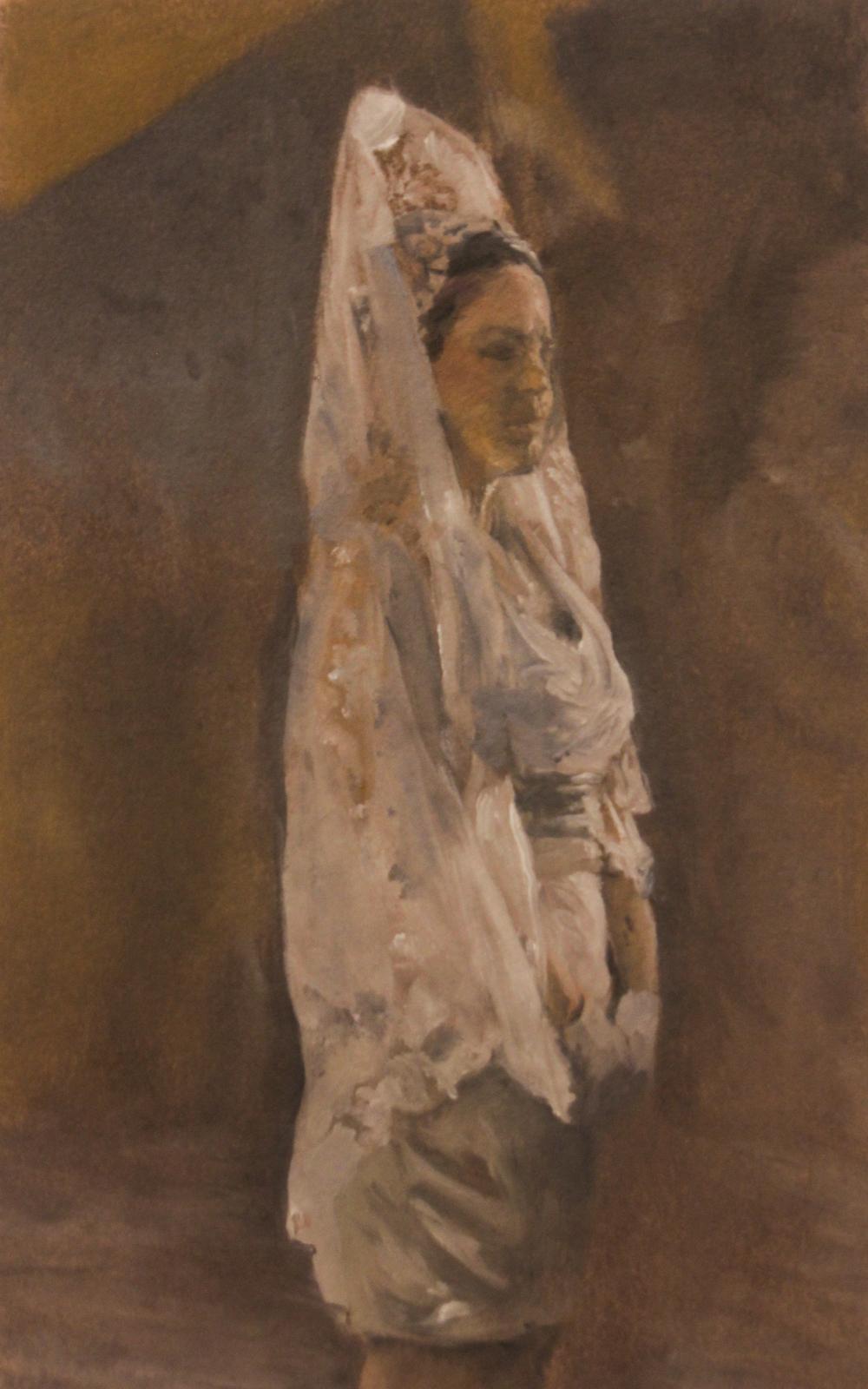 La Dama Con la Mantilla Blanca