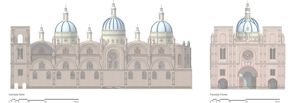 Dibujo: Catedral de Cuenca — [SZ] [EU] [DI] [CC]