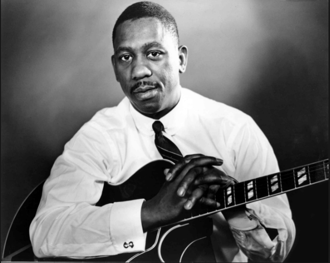 Wes Montgomery, master of music. (I believe this is an image out of copyright.)