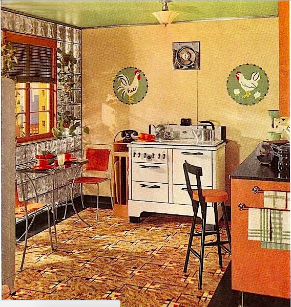 This kitchen could have been yours -- if the price was right in 1939.