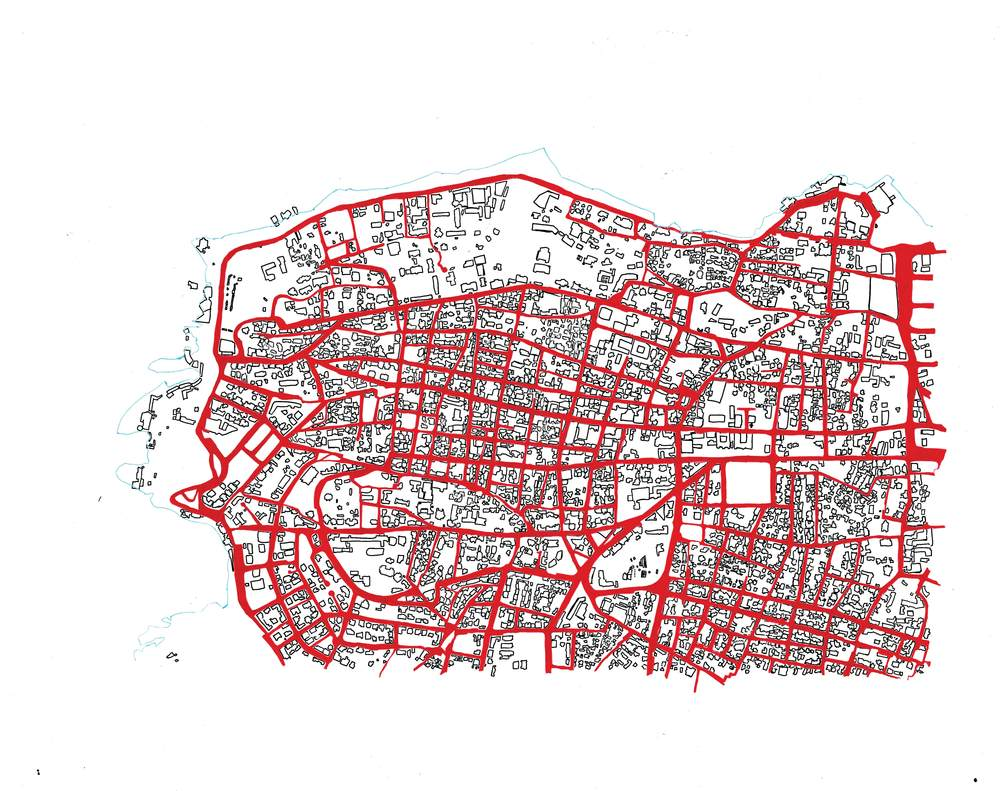 Streets and Buildings of Beirut