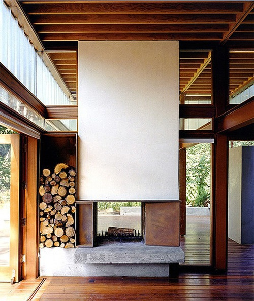 Minimalist and woodsy, Shim Sutcliffe architecture