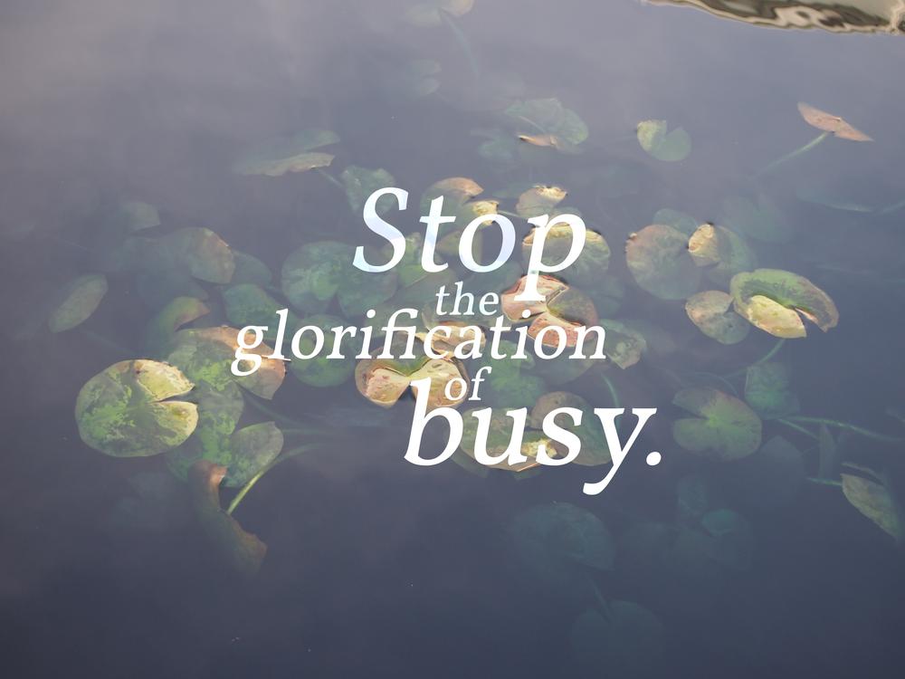 stoptheglorification