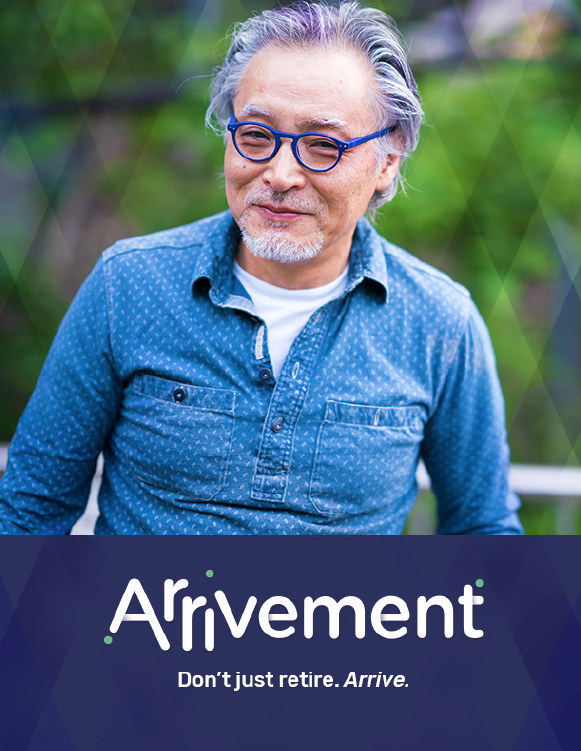 a brand for a new type of retirement - brand identity and language development