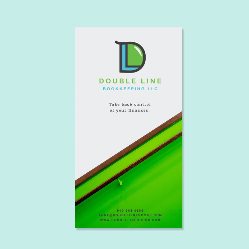 a brand for a bookkeeper with a vision for financial clarity - brand, digital design
