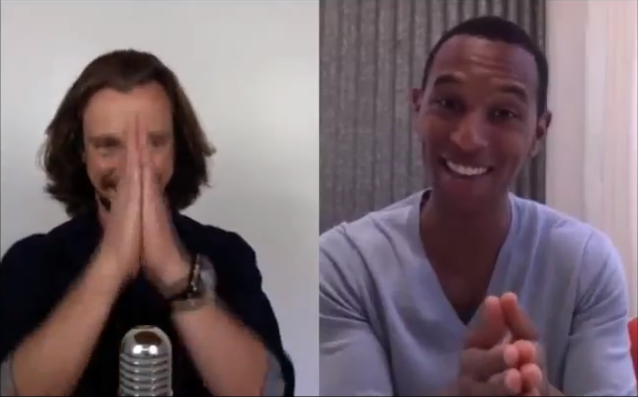 Justin Michael Williams and Chris King - 5 tips to fire up your Facebook. Social Media. Yoga