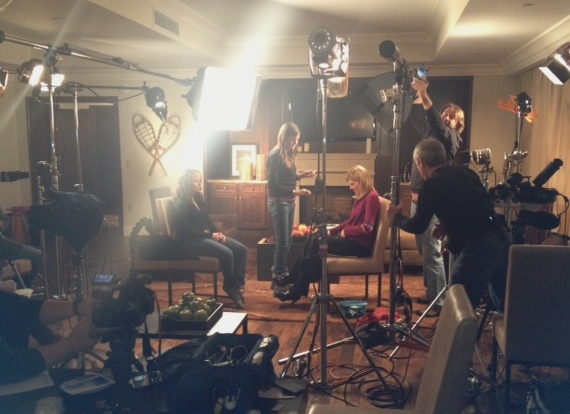 NBC's Kate Snow interviewing Lindsey Van.