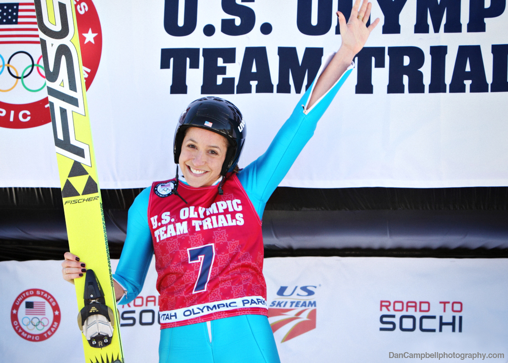 Jessica Jerome makes history and earns nomination to the 2014 U.S. Olympic Team.