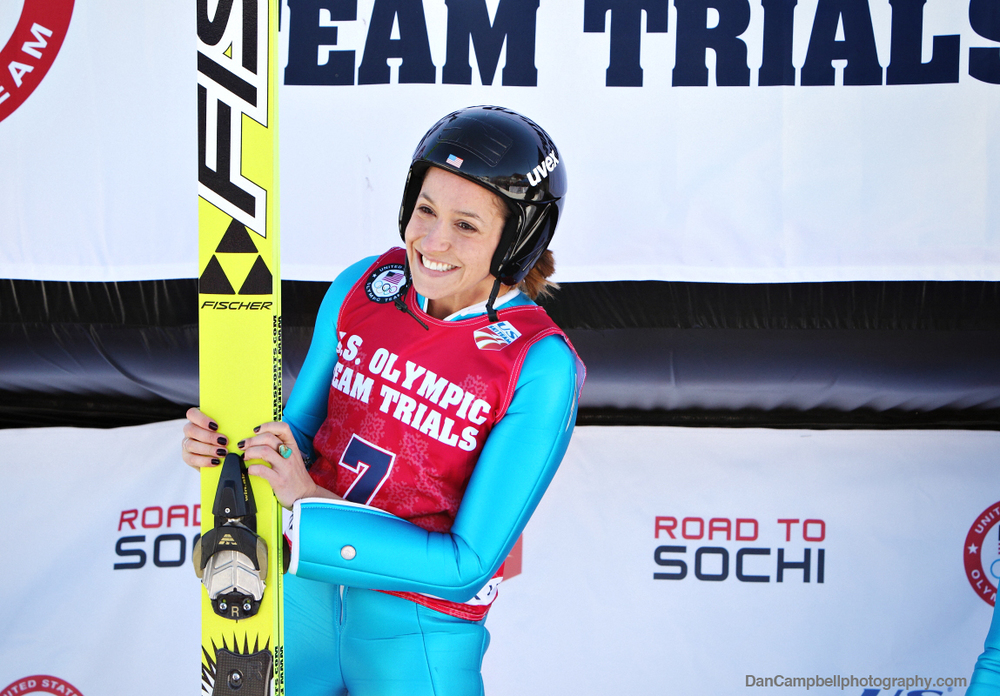 Jessica Jerome wins 2014 U.S. Olympic Team Trials.