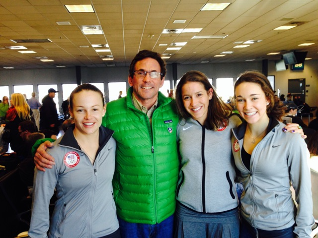 Lindsey Van, Peter Jerome, Jessica Jerome and Sarah Hendrickson.