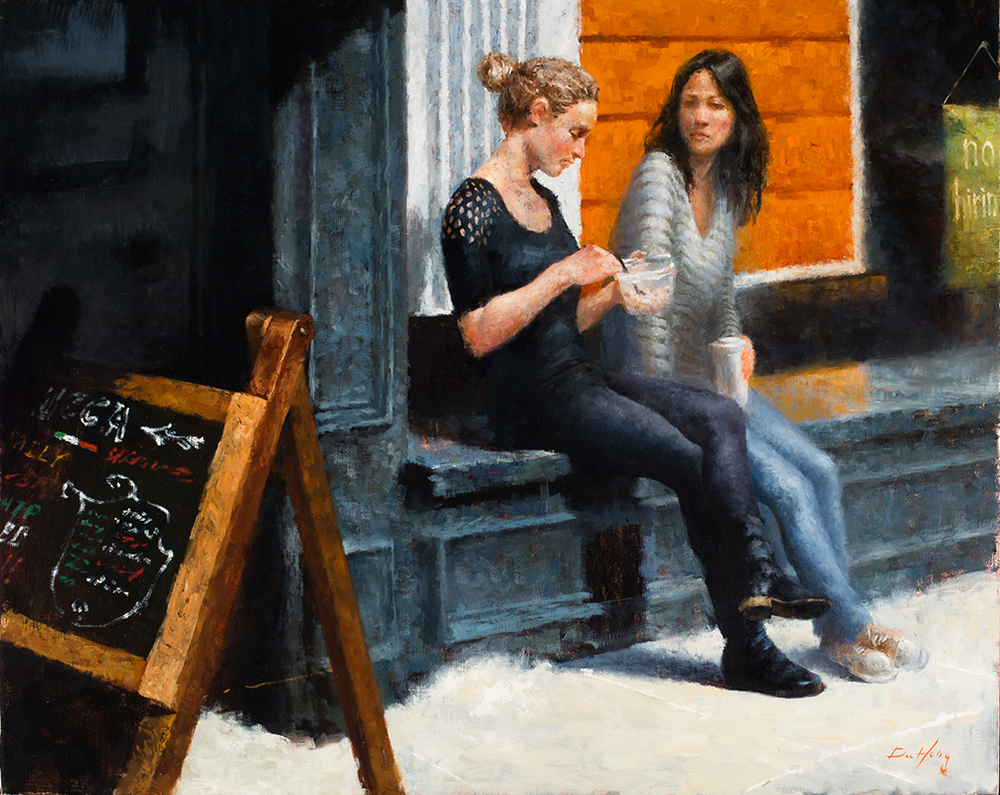 2014_Painting-Lunch on Chestnut street-12.jpg