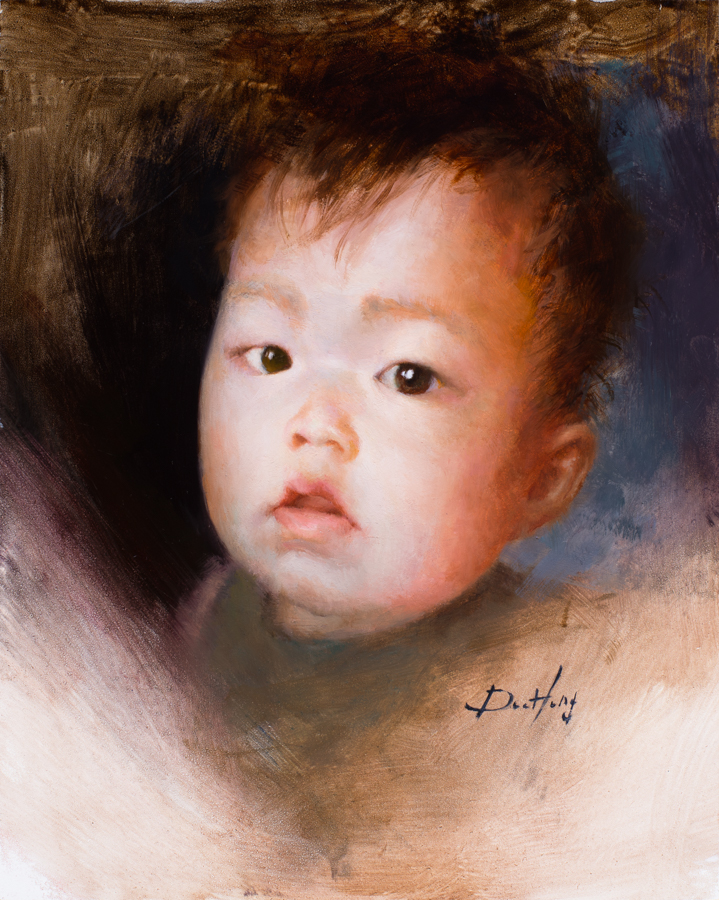 Baby Portrait #1 (sold)