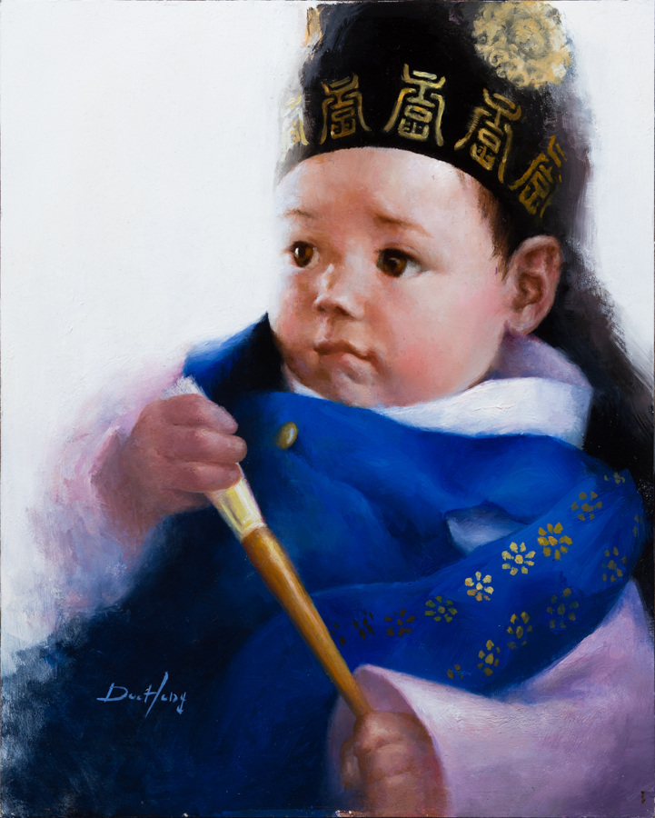 Baby Portrait #3 (sold)