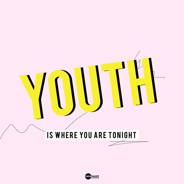 ⚡️⚡️YOUTH⚡️⚡️ We hope you are having the BEST fall break! We cannot wait to see you next week at 7pm!