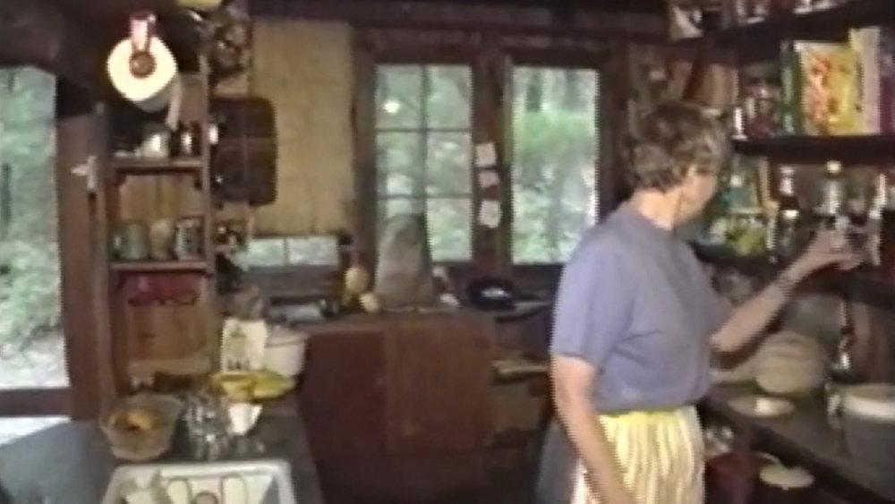 Cabin interior, 1990