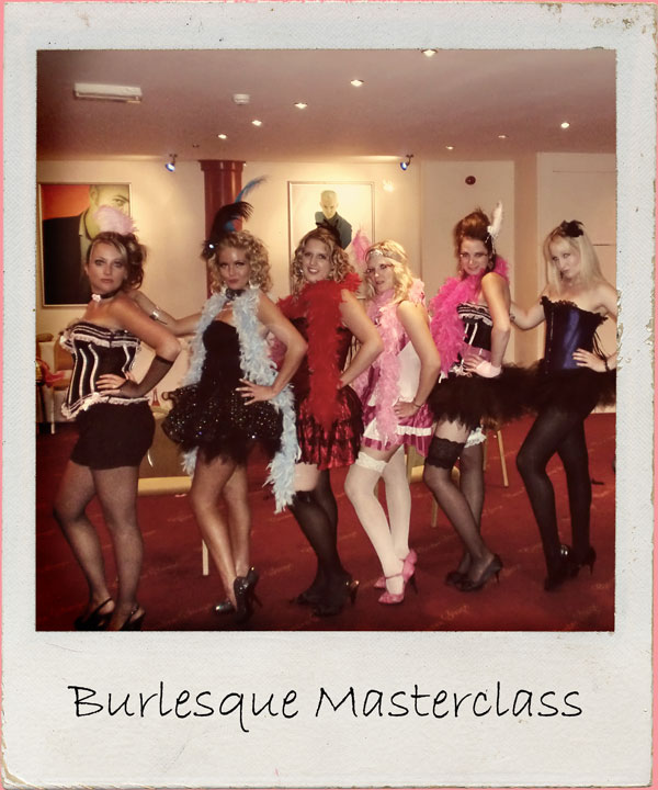 Grab your girlies & get ready to giggle in this naughty themed dance workshop in central London venue. 1.5 - 2 hour workshop Suitable for all abilities