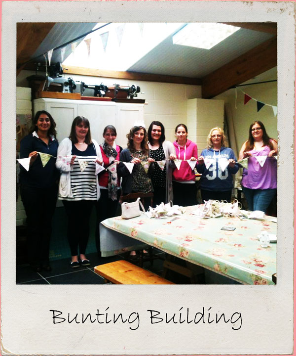 For DIY brides everywhere, why not combine hen party fun with some help making decorative wedding bunting? Includes materials 2 - 3 hour workshop