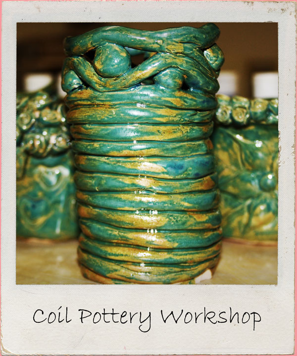Create bootiful coil pots in the relaxing surrounds of this rural studio. Memorable keepsakes made with friends. BYO bubbly 2 hour workshop