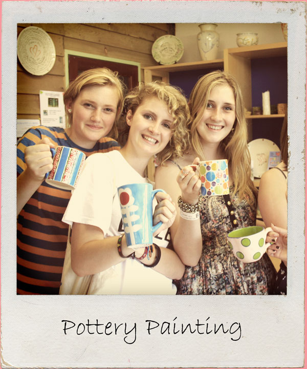 Create your own masterpiece in bright & bold colours as you paint a piece of pottery to keep forever. Perfect for craft lovers. BYO bubbly 2 hour workshop