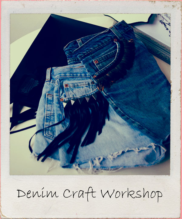 Up cycle those had it jeans in this fabulous craft workshop, perfect for all vintage DIY loving peeps. Have fun & get a new item of clothing. 2.5 hour workshop
