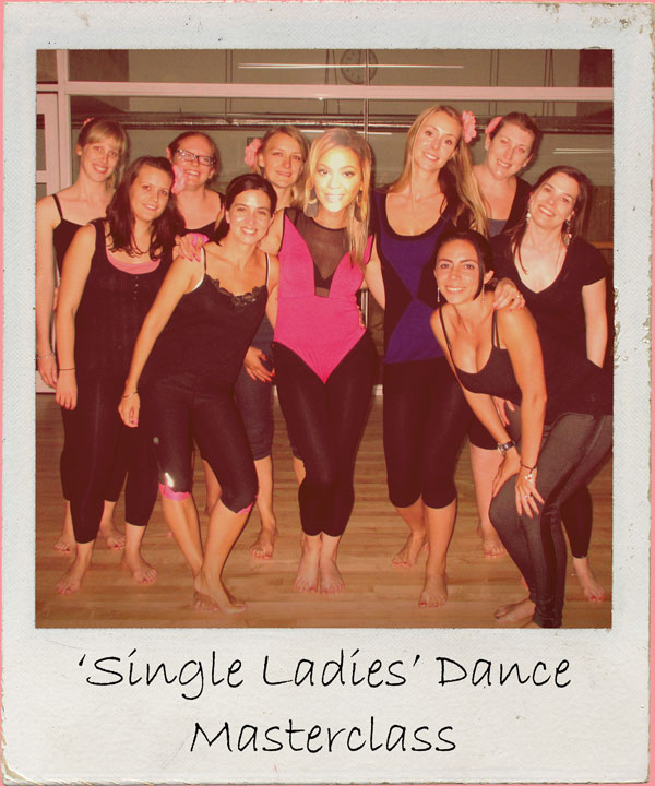 Celebrate your womanhood with your lasses as you learn to strut and shimmy like Beyonce!  1.5 - 2 hour workshop Suitable for all abilities