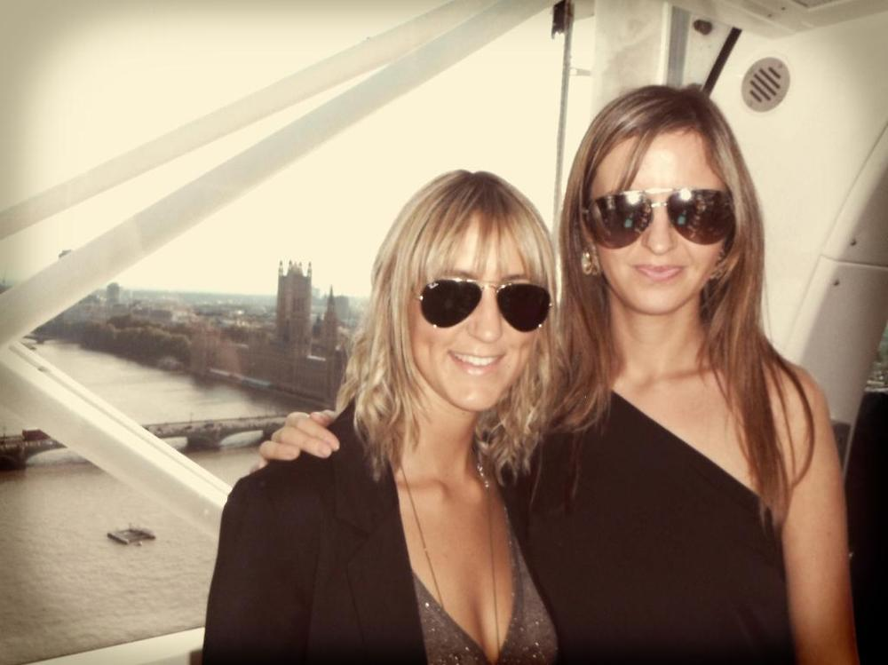 Me & my bridesmaid on my London hen party
