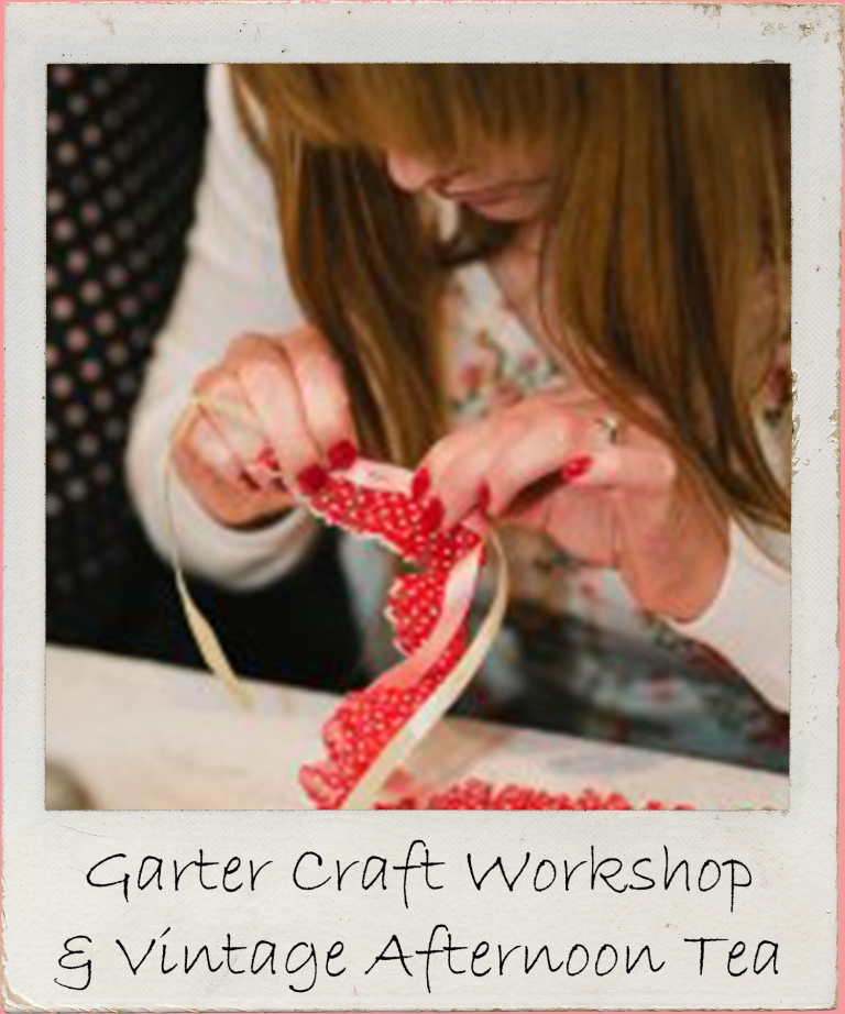 Embrace your inner crafty Dita in this retro themed hen party as you create splendid garters ina craft workshop, followed by a vintage afternoon tea. Spangly doodly!