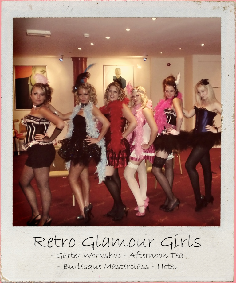 Soak up the retro glamour. Includes garter making craft workshop, vintage afternoon tea, burlesque masterclass & stay in 4 star central London hotel.
