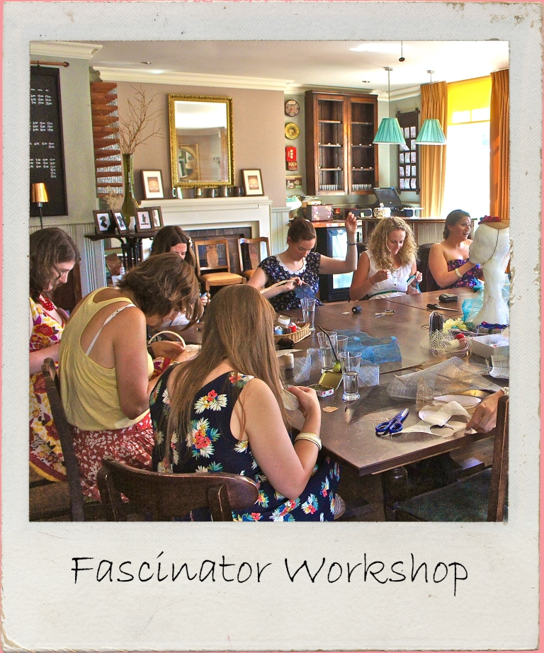 Embrace your creative side & create something useful to wear to the big day in this fascinator making workshop for crafty hen parties in London.