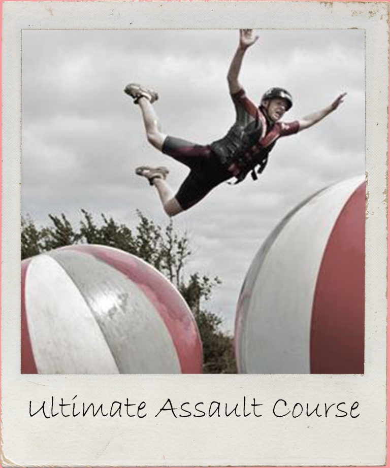 You've seen the TV show, now it's time to wipe out on our very own super fun Devon assault course. Amazing fun to be had for all ages!