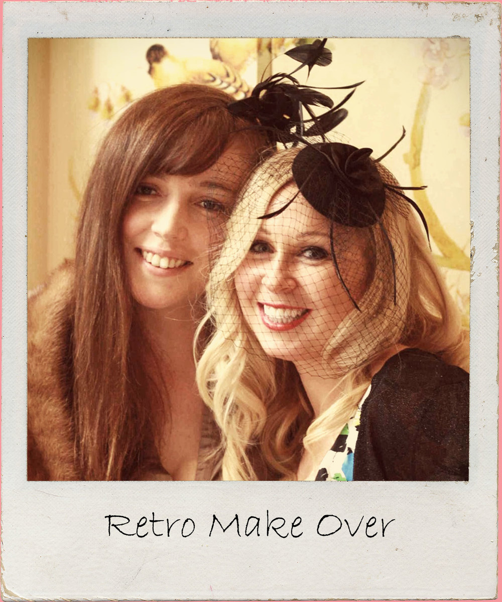 Transform from hens into glamour gals in this fabulous retro make over hen party. 2 - 3 hours