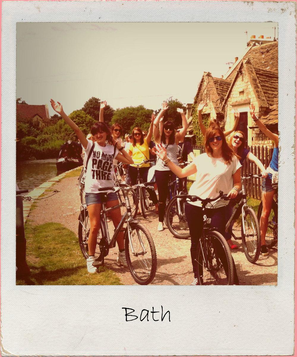 Bath craft hen party