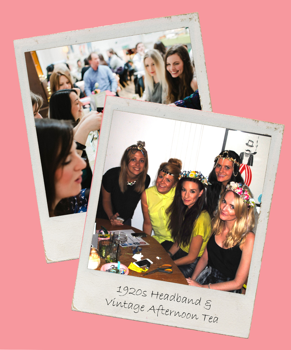Click to view our fabulous range of vintage inspired & craft themed hen parties in London