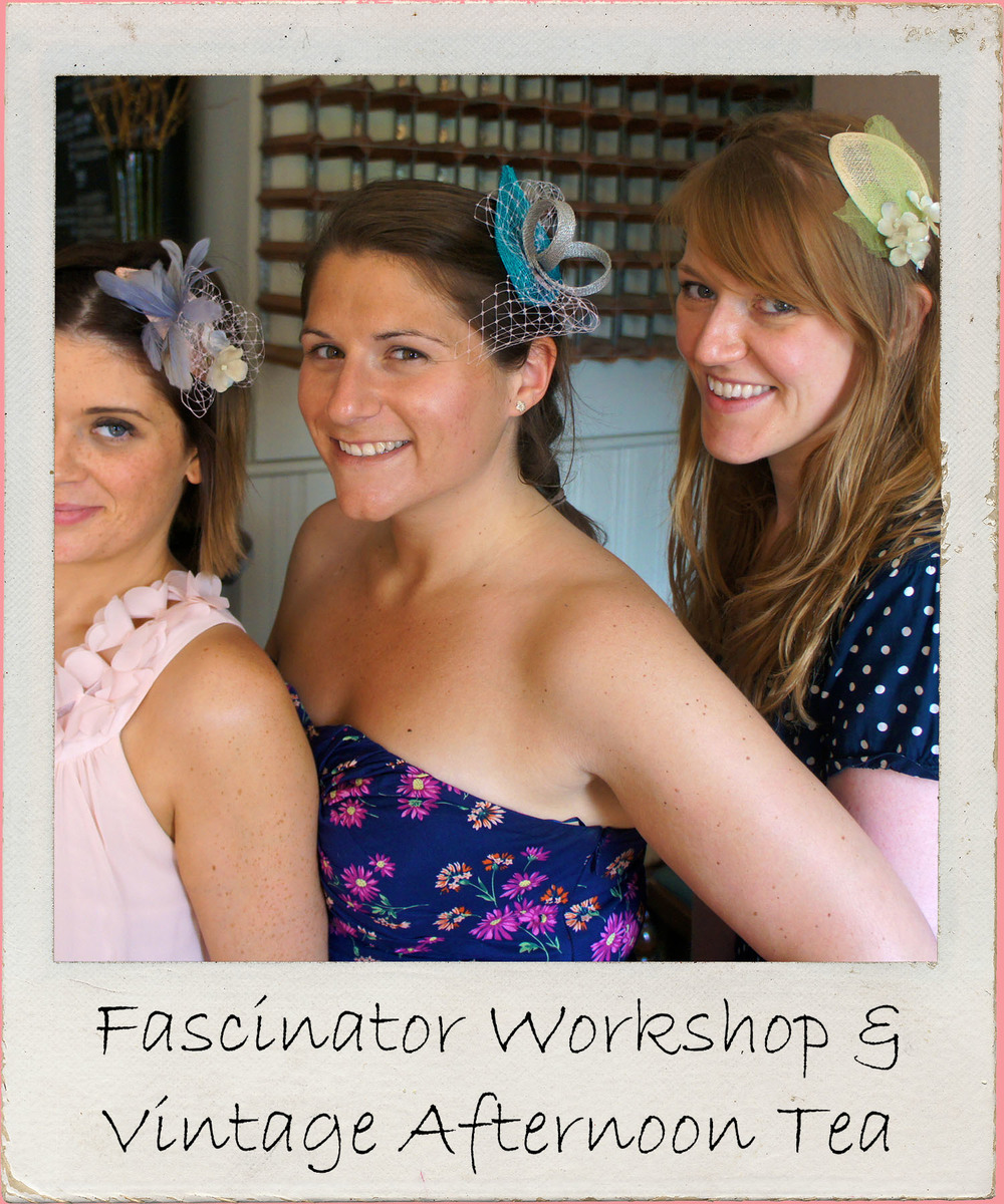Embrace your creative side & make something useful to wear to the big day in this fascinator making workshop for crafty hen parties inOrmskirk.