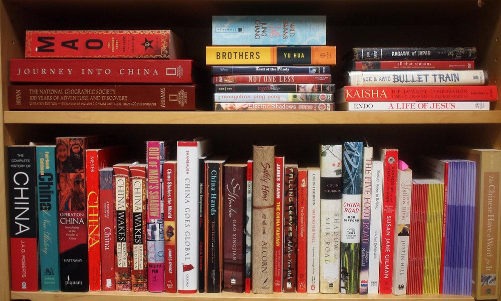 Books about China