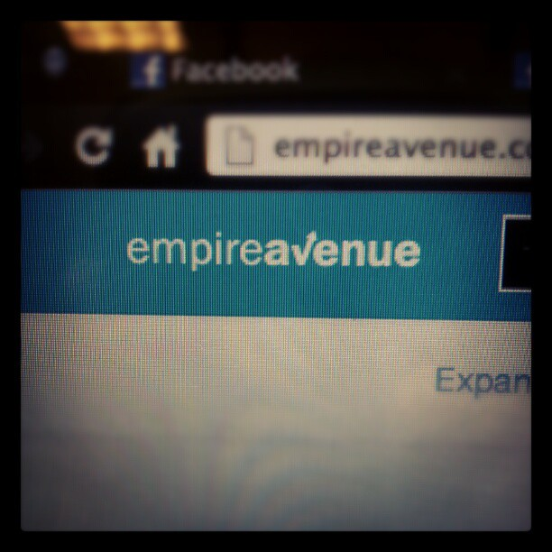 I have no idea what the hell I am doing. #socialnetworking #empireavenue #uhhh? #whatwillhappen #whatnow #buyme #stocks #roommatetoldmetodoit