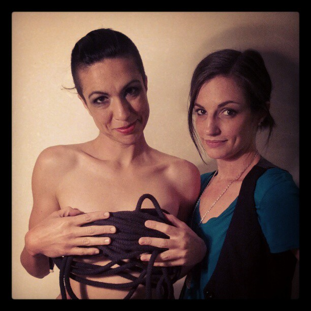 Behind the scenes today #photographer #photograph #model #bondage #photohrapherproblems