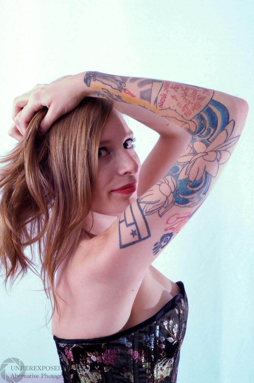 Model:  Scarlett Quinn