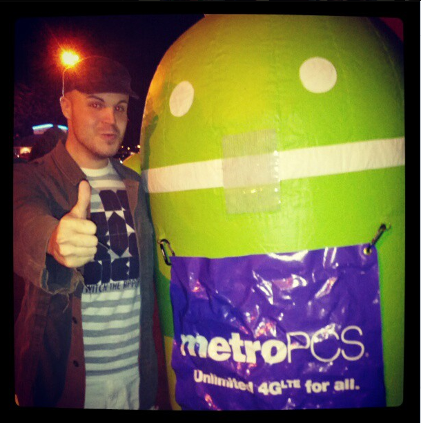 DJ Aesthetic and Android!