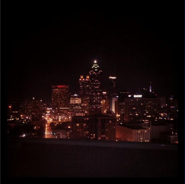 Atlanta Skyline at night.