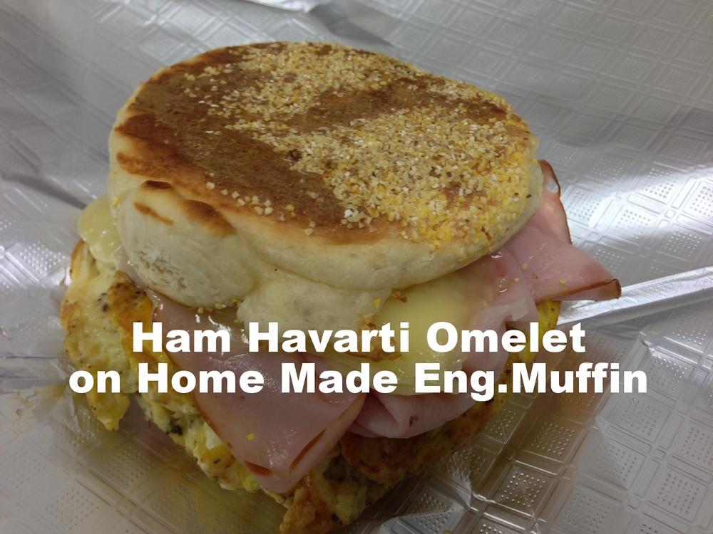 Ham Havarti Omelet