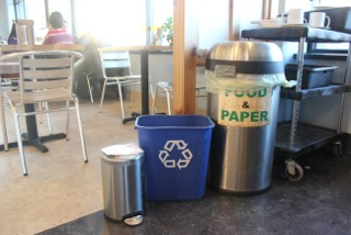our Zero Waste Goal means that we do intend to reach a point where nothing is trash for a landfill or garbage burner.  We compost all of our food and paper waste, we sort and recycle, reuse and reduce the need for throw-aways.  We celebrate and honor those who are making the switch with us and advocate for easier methods to reduce waste in Minneapolis.