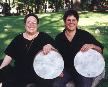 Amy & Barb, Frame Drums of Cybele