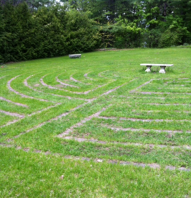 Centre labyrinth