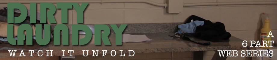 Dirty Laundry Page BAnner BRian Ernst Mitch Brinkman web series