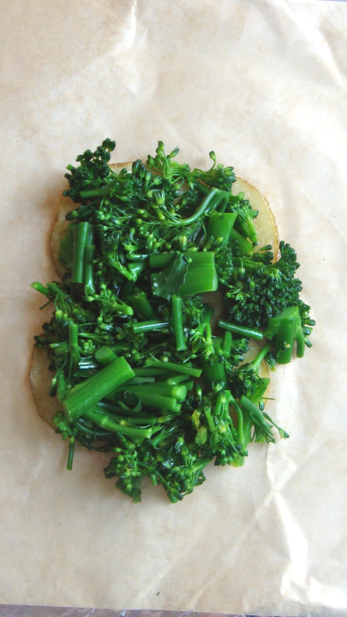 cod w/ broccolini